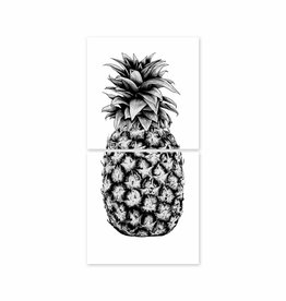 Boubouki Wall Sticker Pineapple