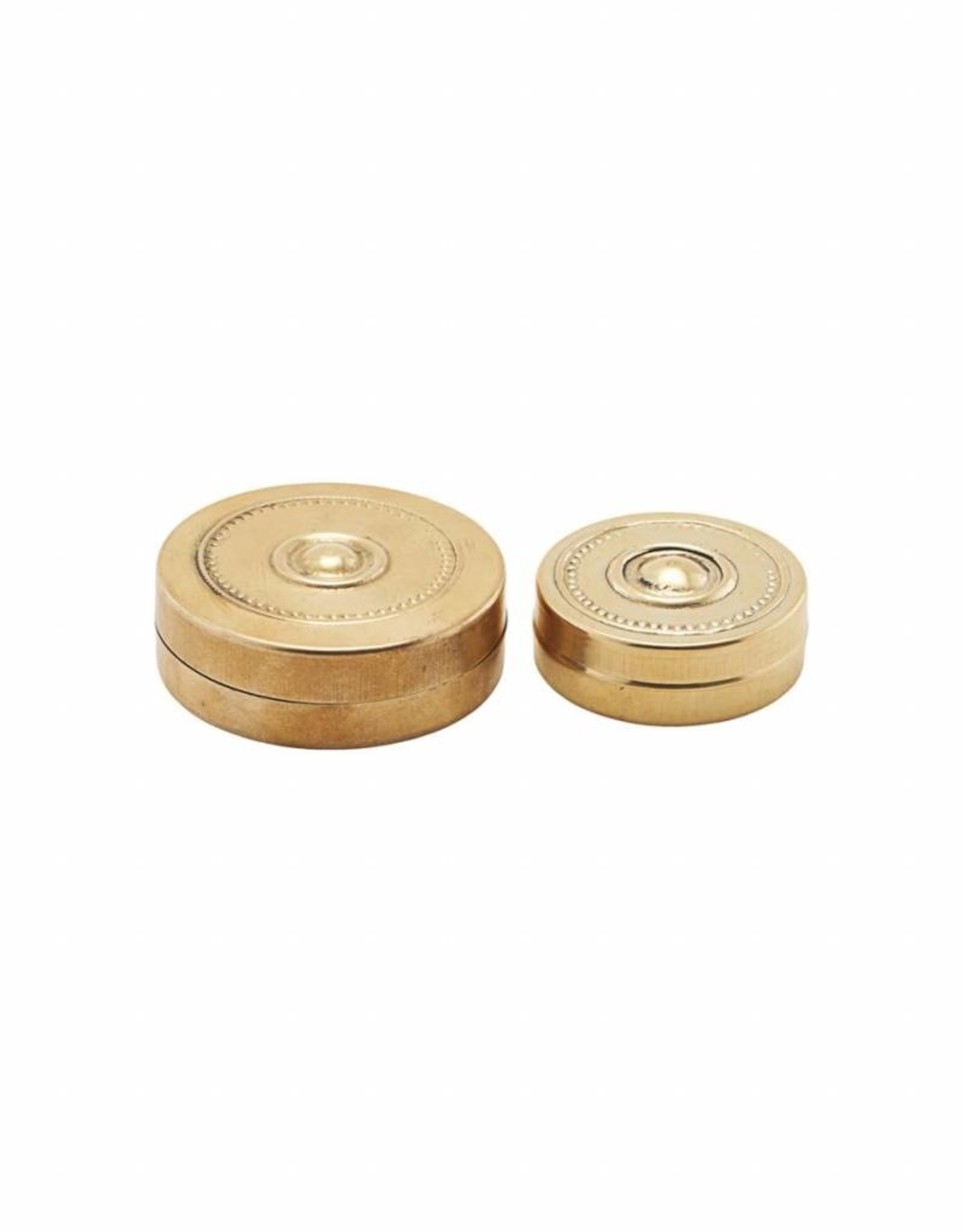 Meraki Small Brass Storage Box