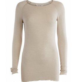 Gai&Lisva Amalie shirt wol/viscose - Chateau Grey