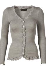 Rosemunde Vintage vest zijde/katoen