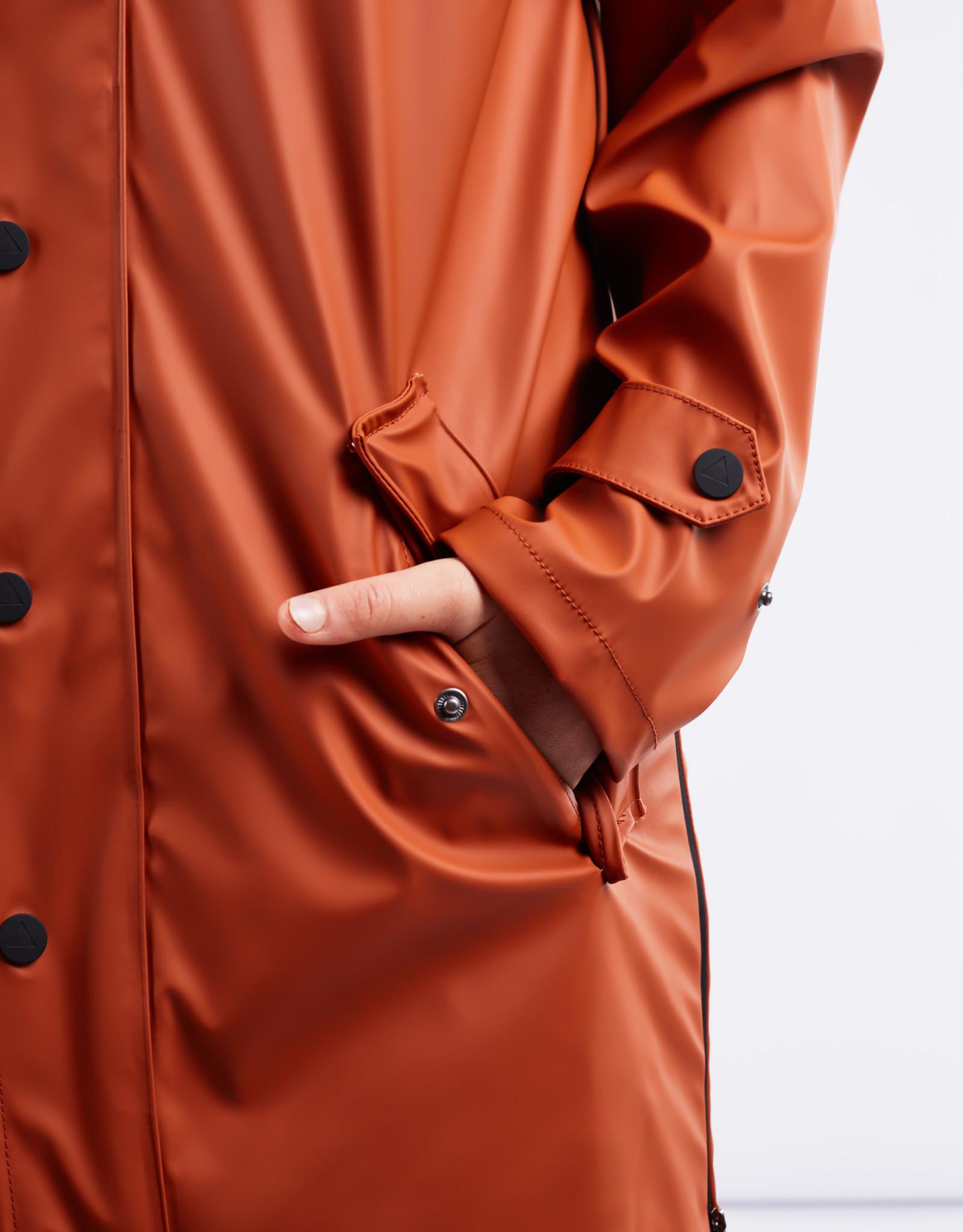 Maium Regenjas / poncho Gingerbrown