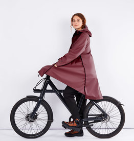 Maium Raincoat / poncho Redbrown