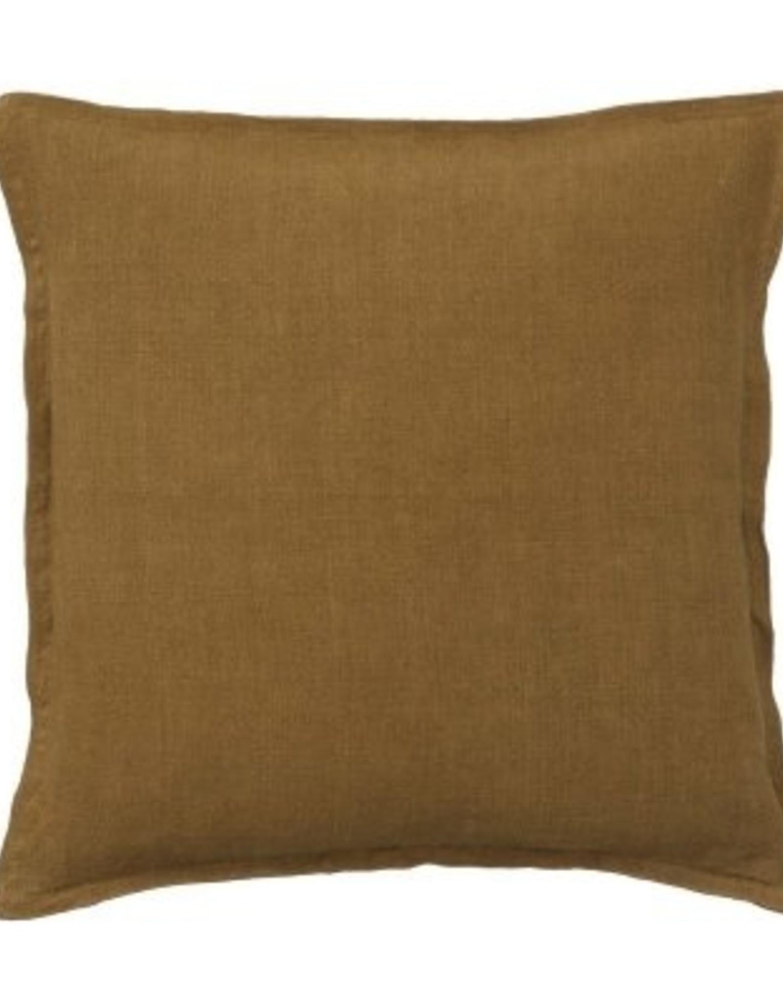 Bungalow Soft linen cushioncover 50x50cm pecan