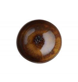 Bungalow Mini Bowl Jazz Amber aardewerk