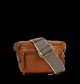 OMyBag Copy of Beck's Bum bag Black -checkered strap