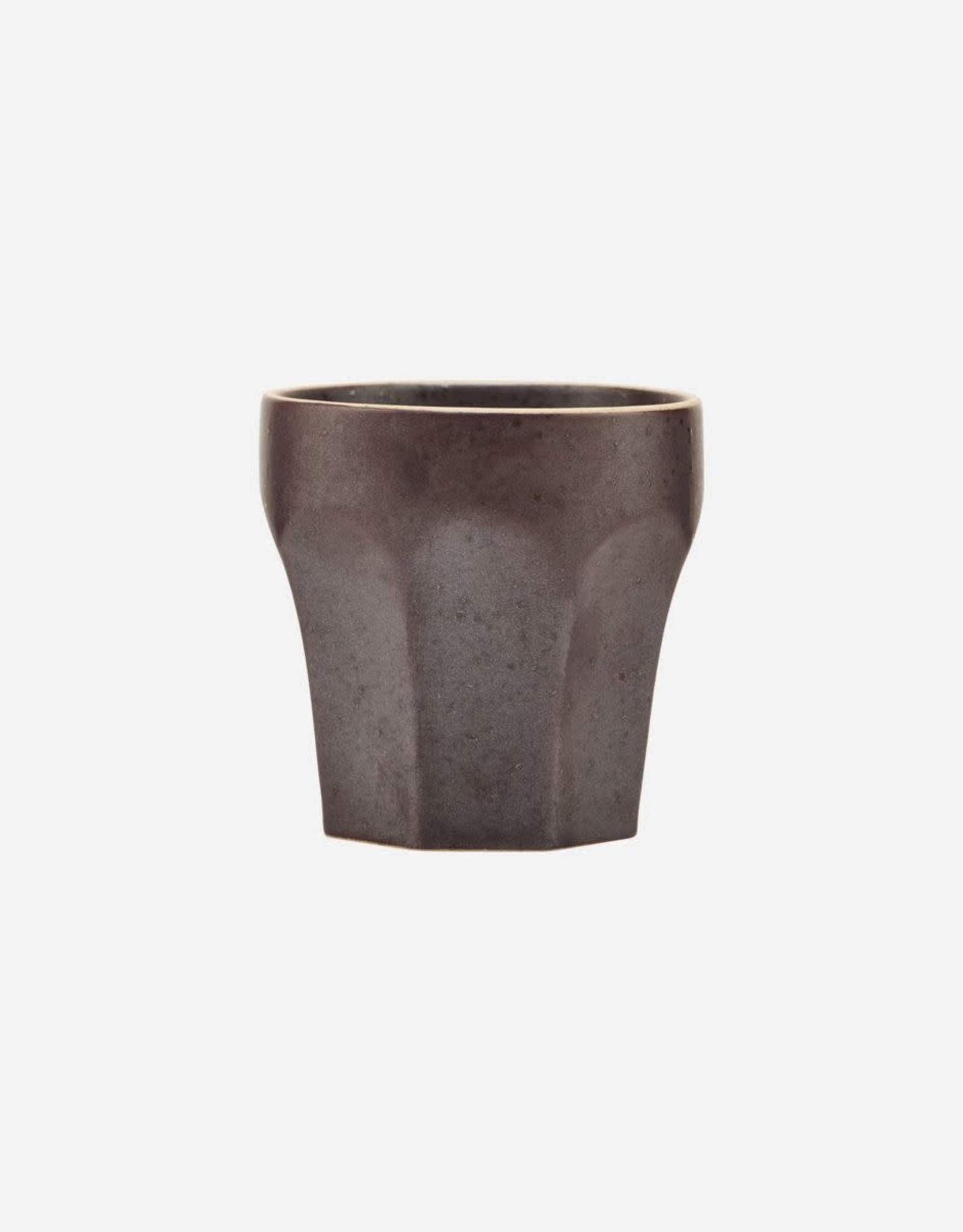 """House Doctor Espresso cup """"Berica"""" bruin"""