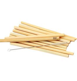 Bazar Bizar Bamboe Rietjes - Set van 10