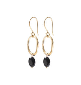 A Beautiful Story Earrings 'Graceful' - Black Onyx
