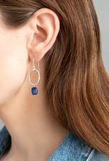 A Beautiful Story Oorbellen 'Graceful' - Lapis Lazuli