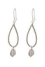 A Beautiful Story Earrings 'Magical' - Smokey Quartz