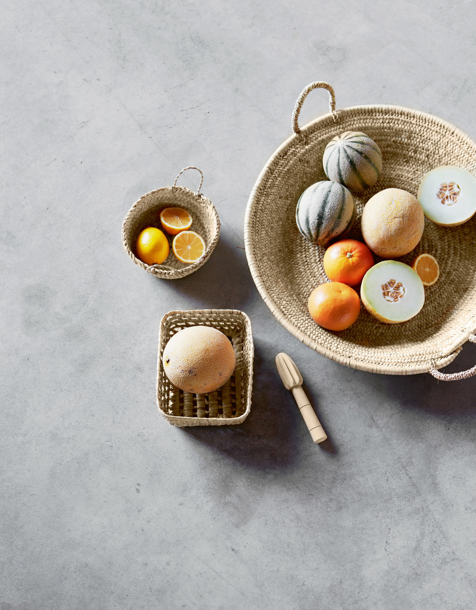 TineK Home Citroenpers van sinaasappelhout