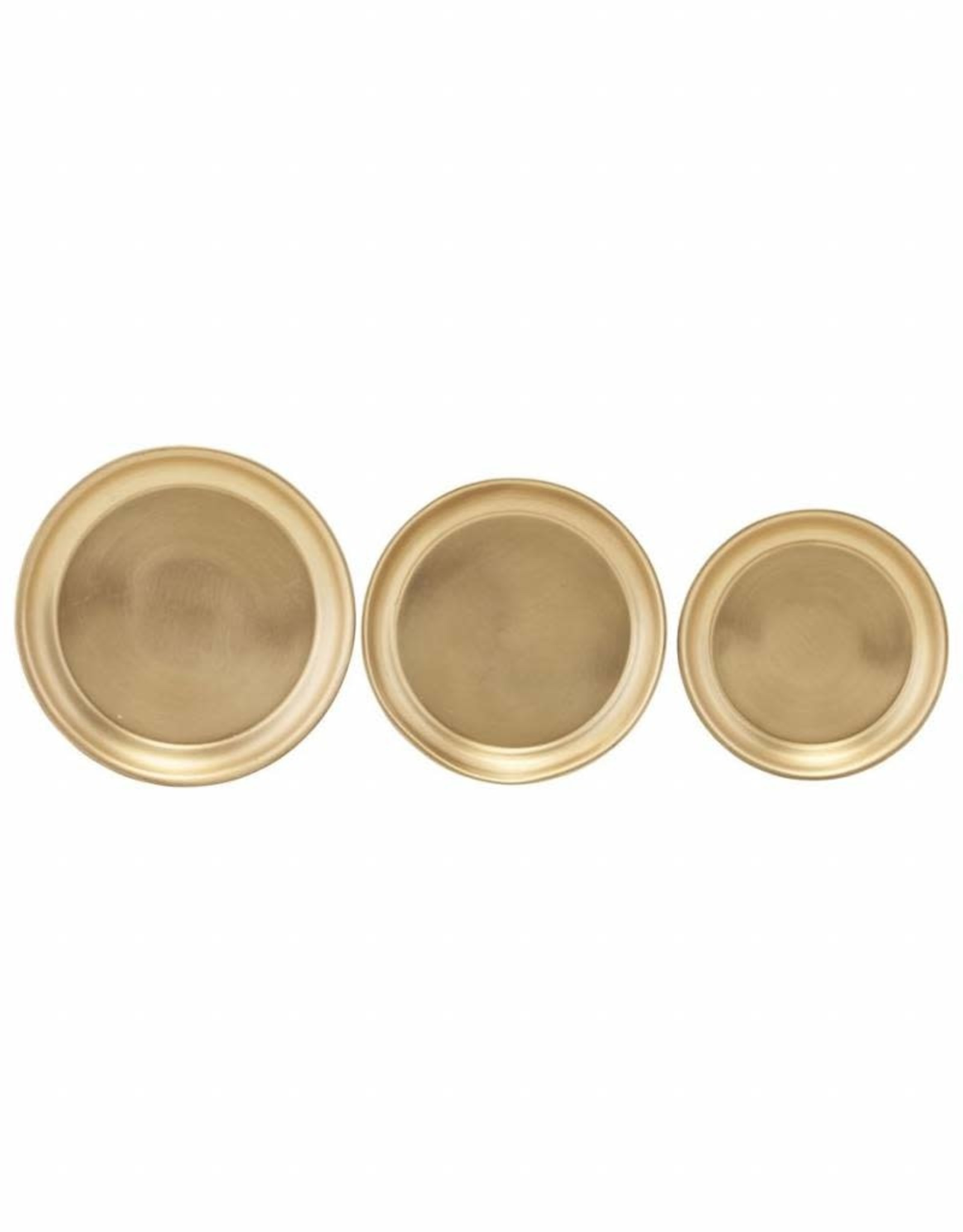 "House Doctor Tray ""Use"" brass rond"