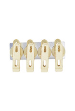 Monograph Set of 4 Iron Magnet Clips