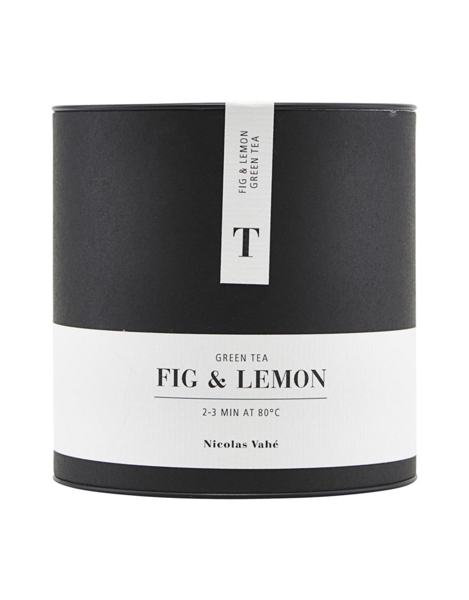Nicolas Vahe Green tea Fig & Lemon