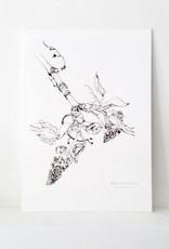 """Maartje van den Noort """"Quiet Explosion"""" artprint"""