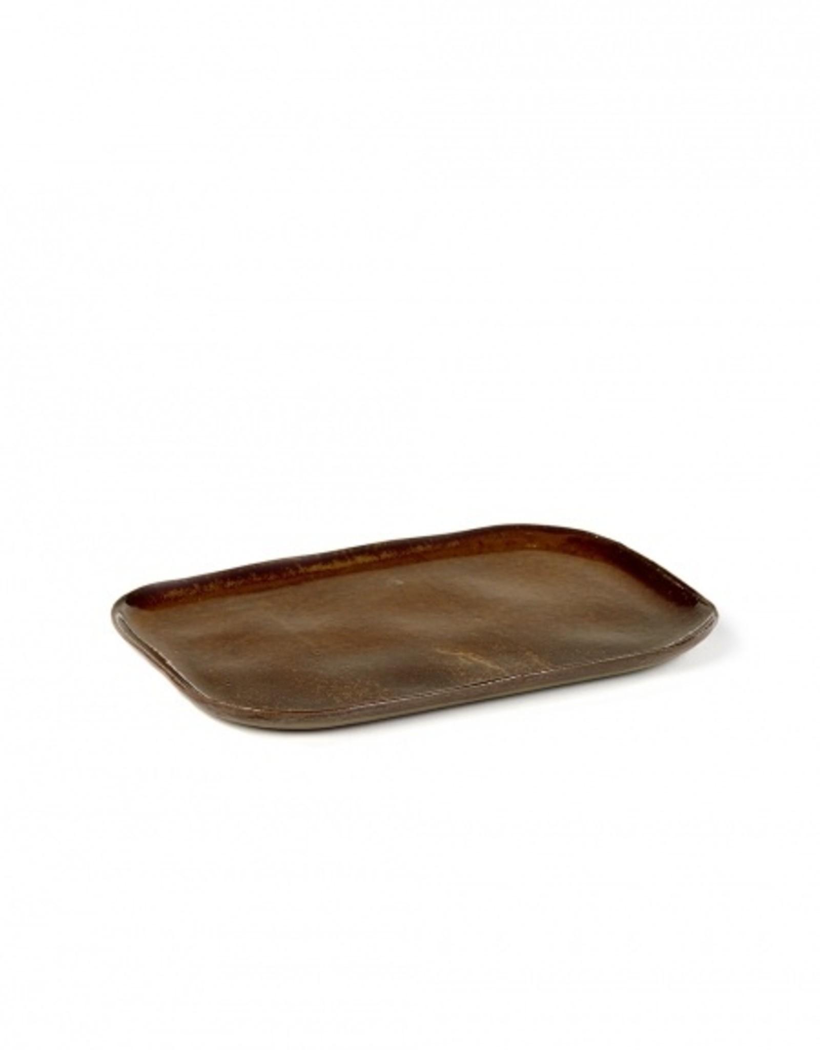 Serax Ocher Sandstone No 2 Rectangular Plate