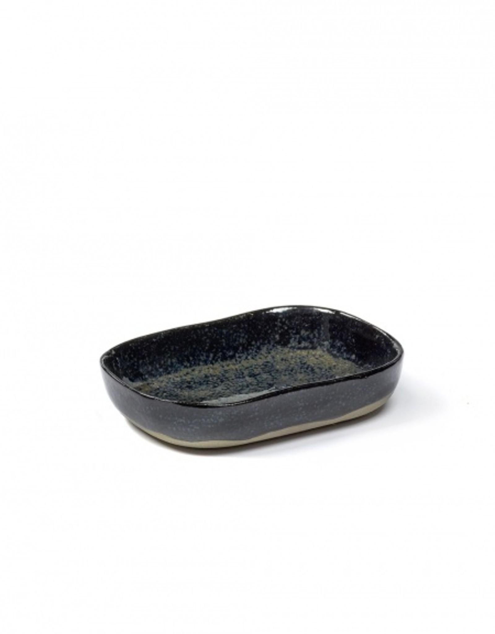 Serax Dark Blue Sandstone No 7 Deep Plate