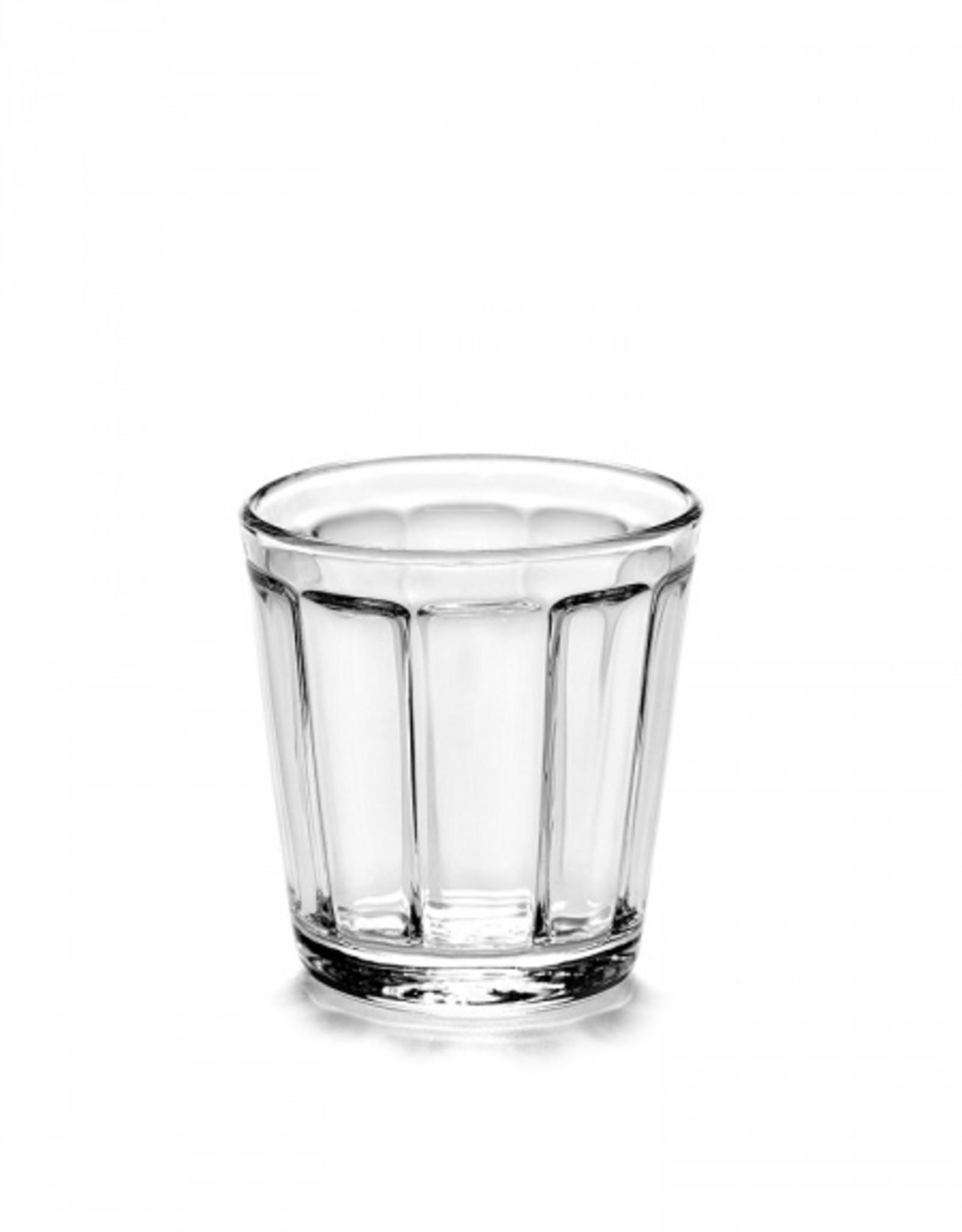 "Serax ""Surface"" espresso glass"