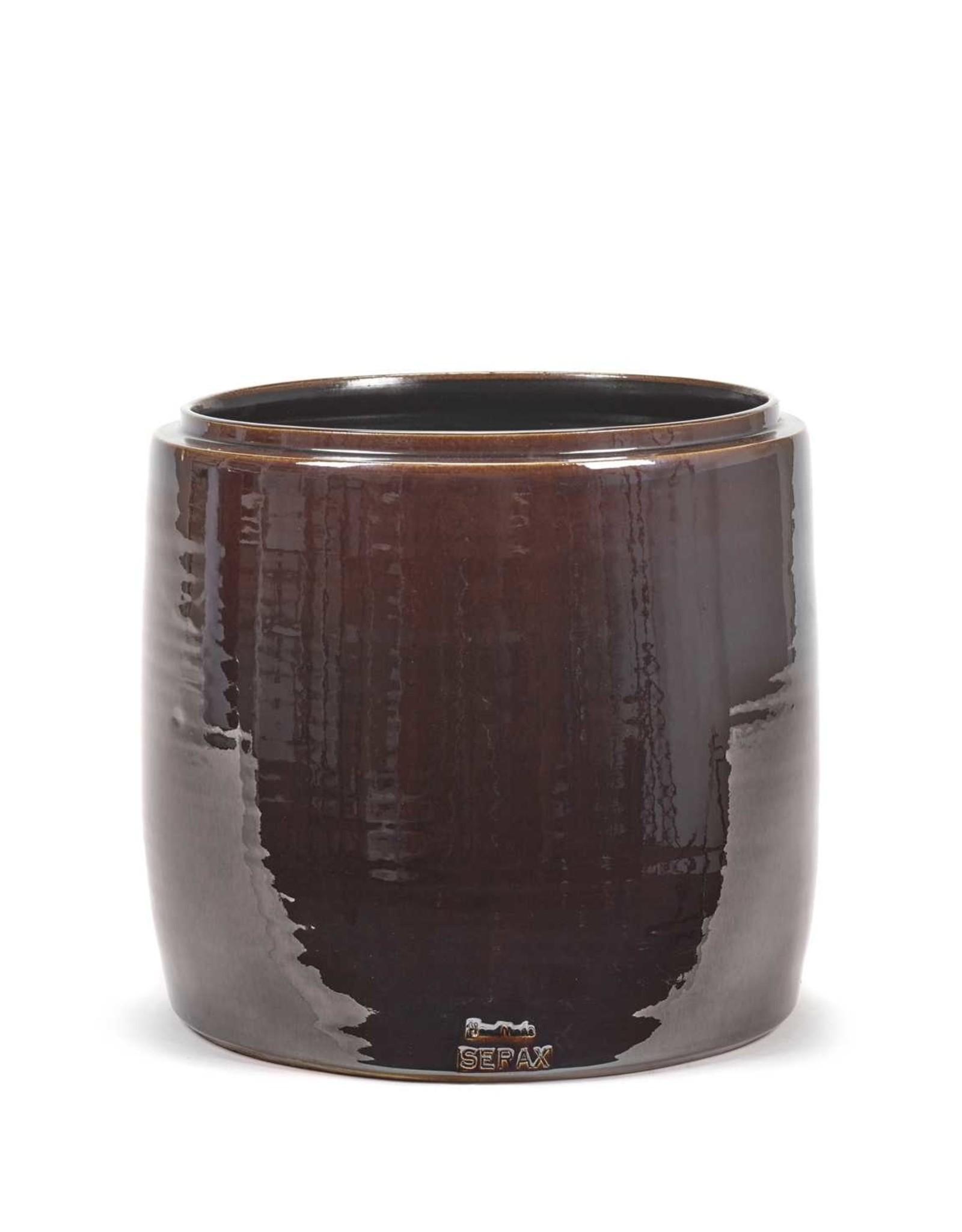 Serax Flower Pot Brown - S