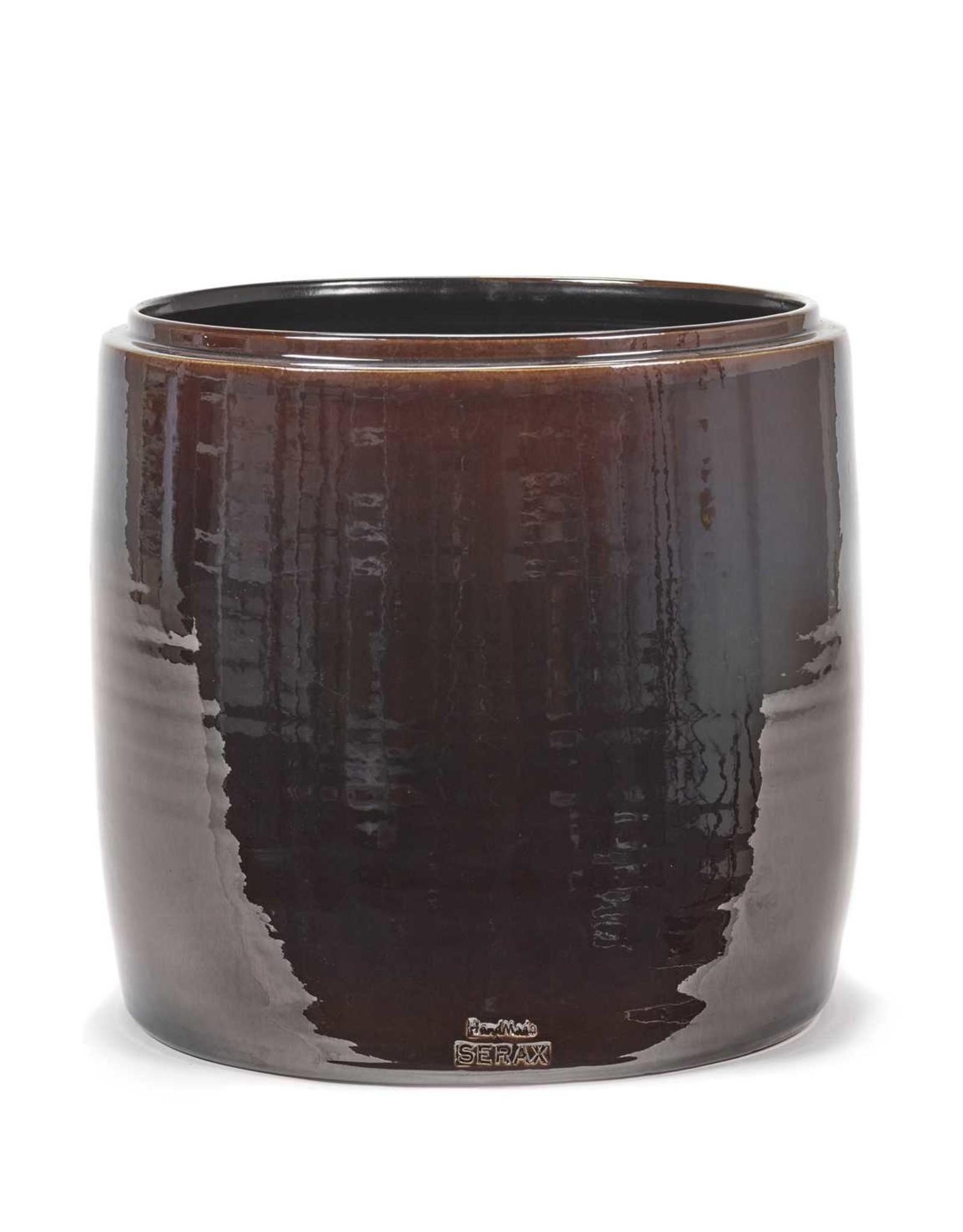 Serax Flower Pot Brown - M