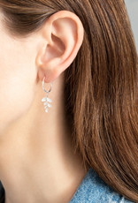 A Beautiful Story Earring 'Hope' - Branch Silver