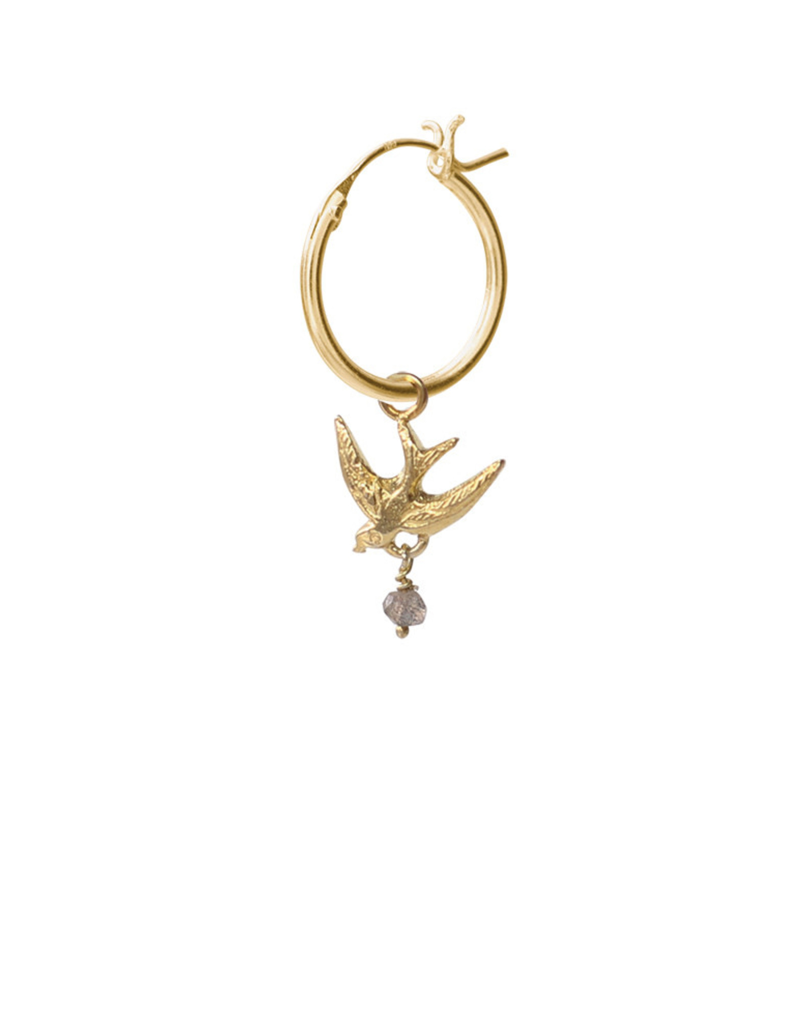 A Beautiful Story Earring 'Hope' - Swallow Gold