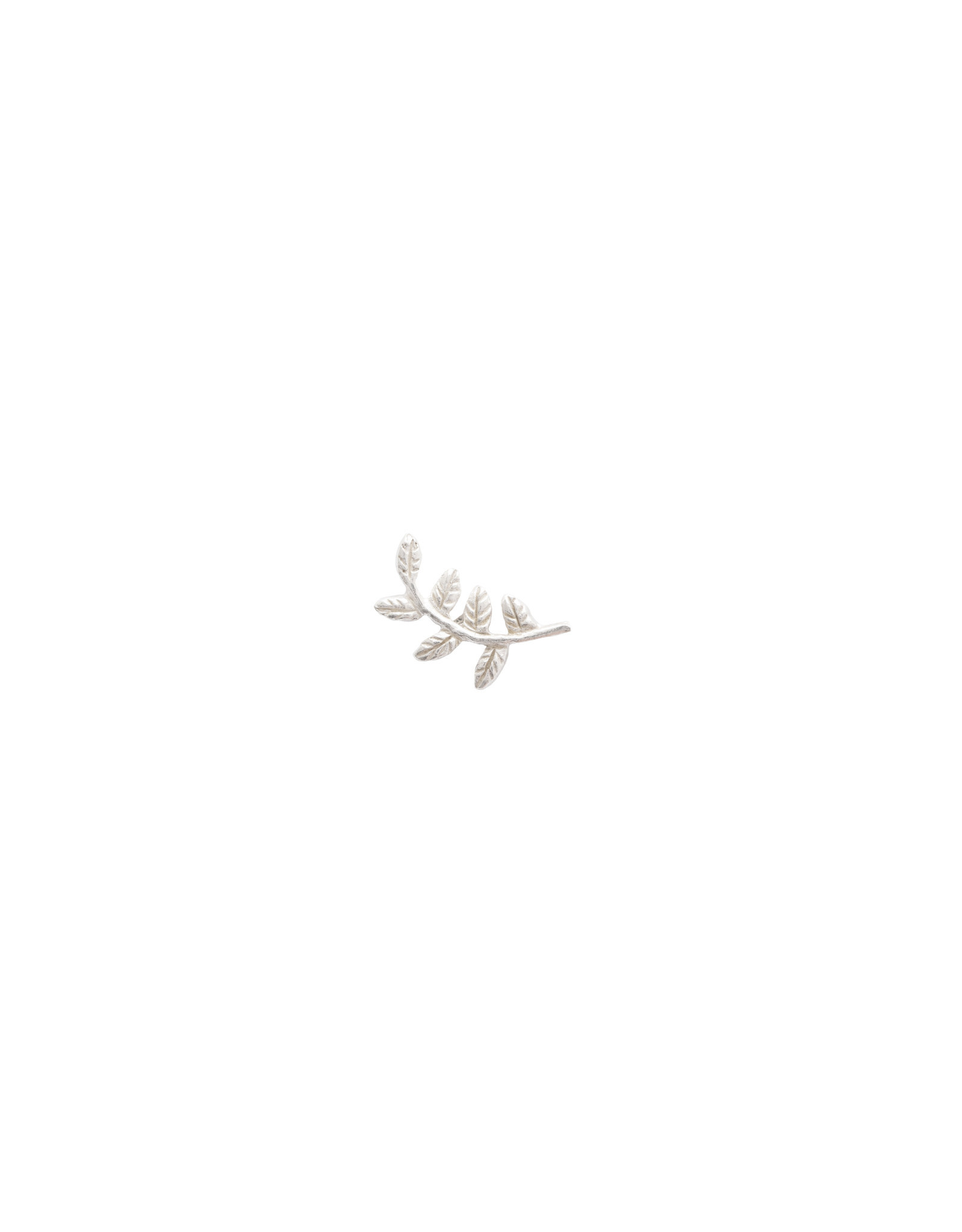 A Beautiful Story Earring 'Symbol' - Branch Silver