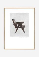My Deer Art Shop 'Pierre Jeanneret' 30x40cm limited edition