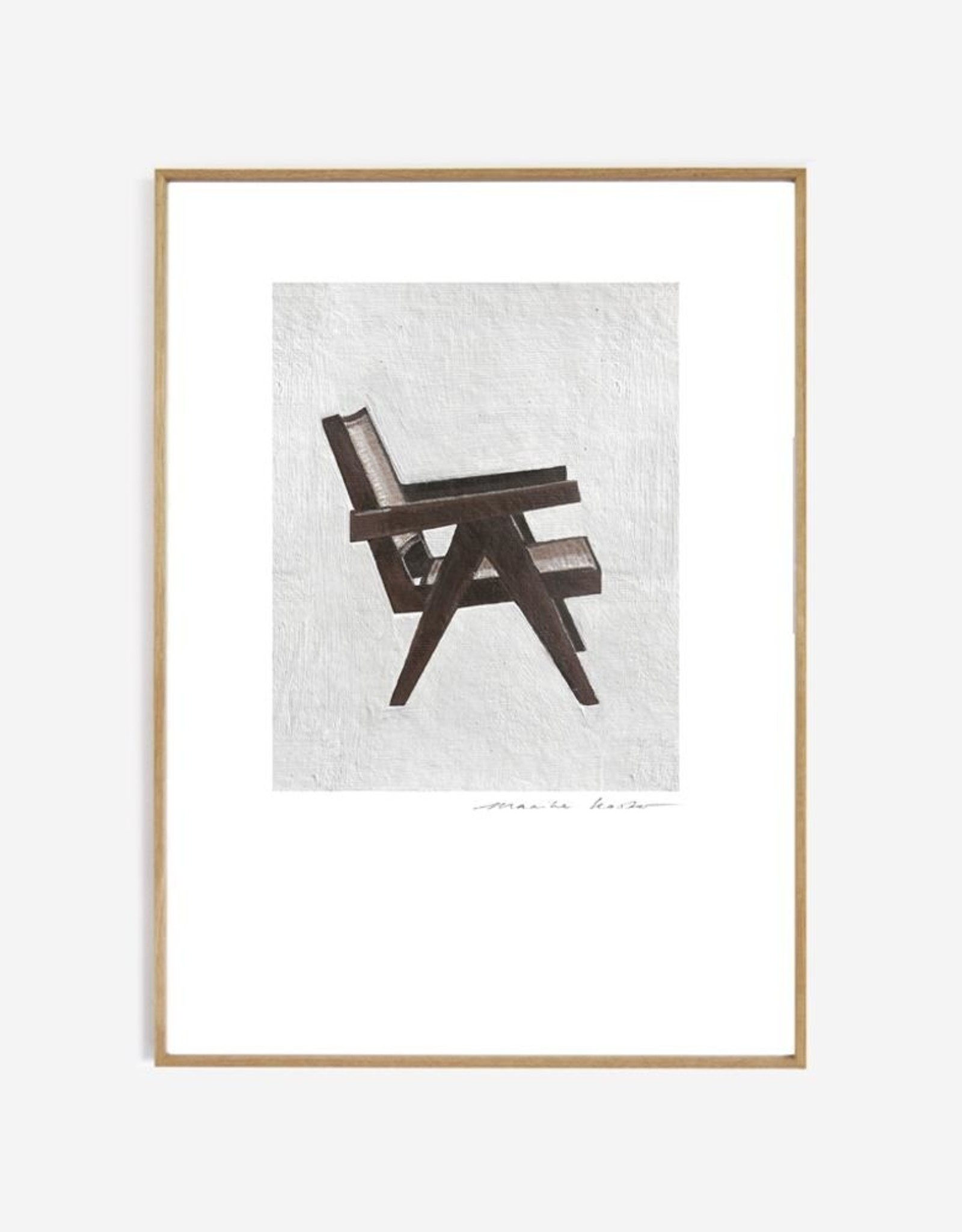 My Deer Art Shop Poster 'Pierre Jeanneret'