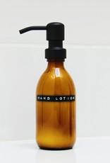 Wellmark Hand Lotion 250ml bruin glas / zwarte dop