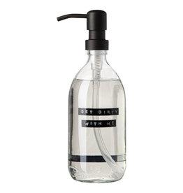 Wellmark Afwasmiddel  500ml  helder glas / zwarte dop