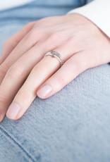 A Beautiful Story Ring 'Beauty' - Labradorite Zilver