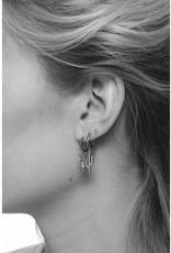 Earring Pineapple Silver