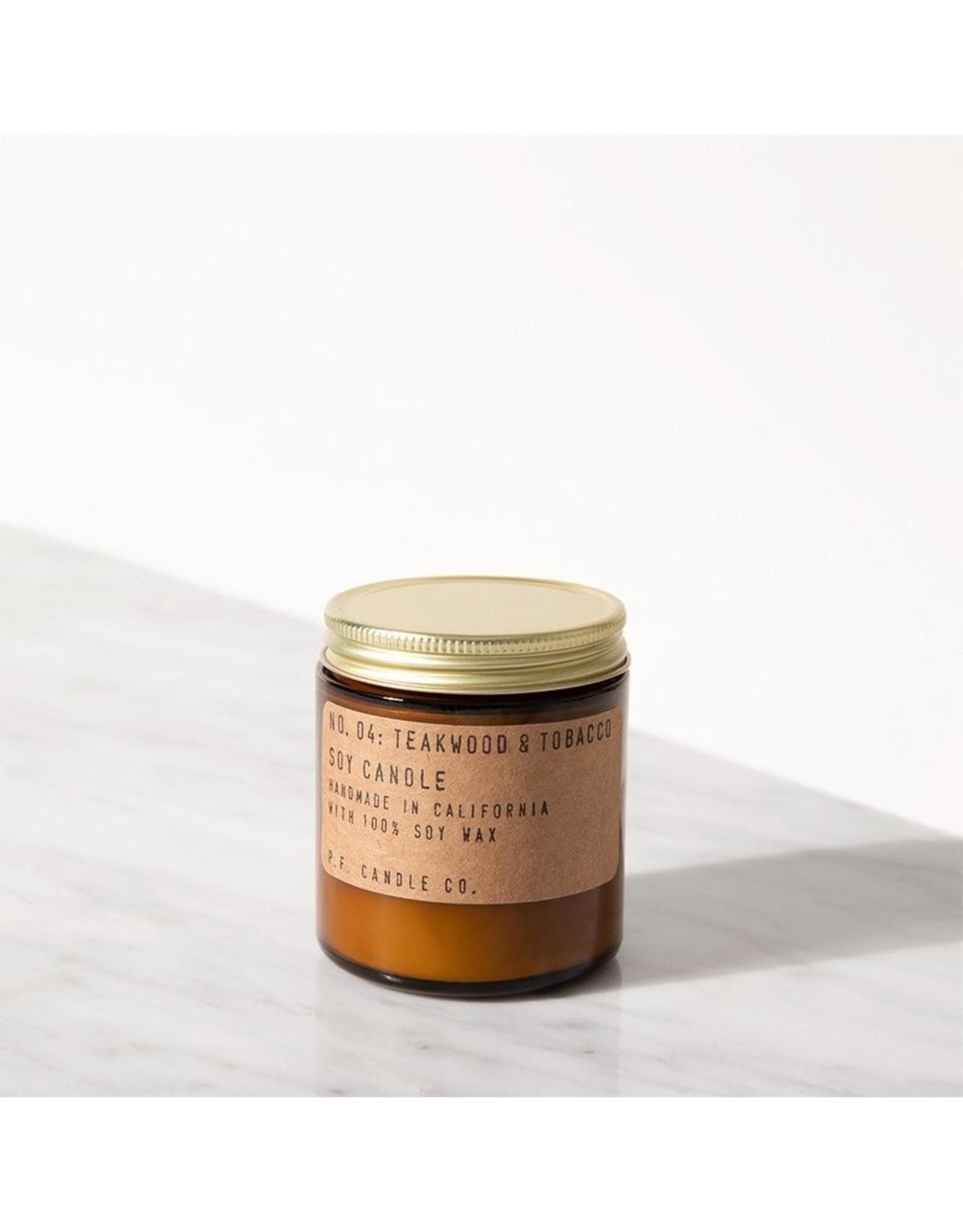 P.F.Candle & Co No.4 Teakwood & Tobacco mini