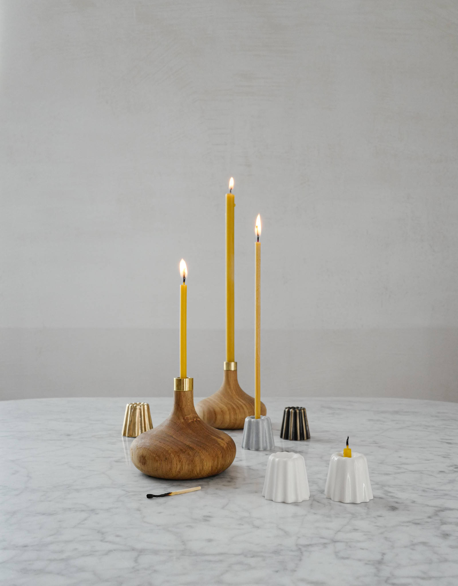 OVO-things Oak Candleholder