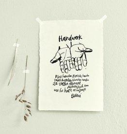 Sukha poster Handwerk - lokta papier
