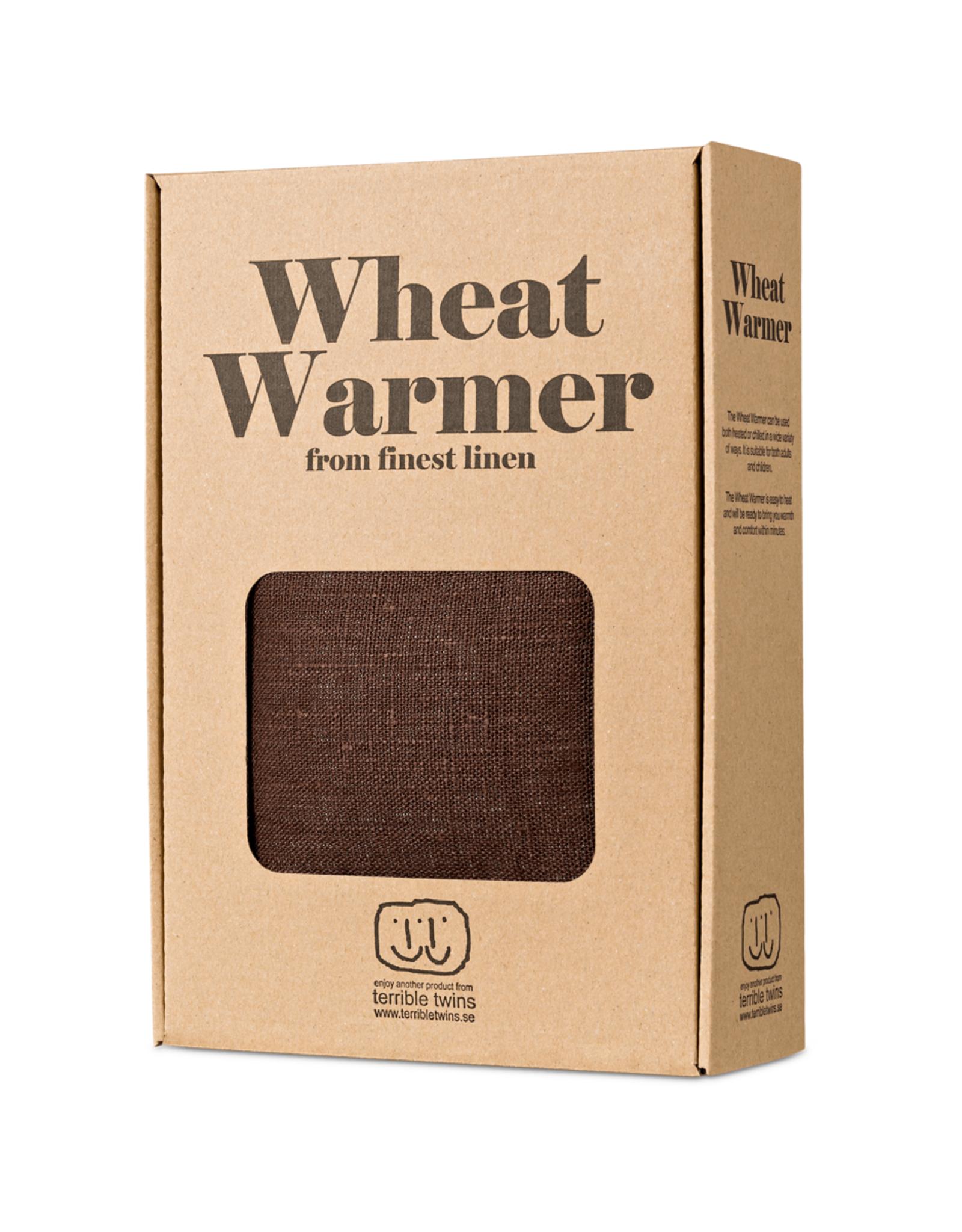 Terrible twins Wheat Warmer S linnen - bruin