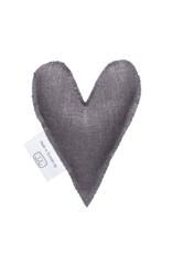 Terrible twins Lavendel hart van linnen - handgemaakt