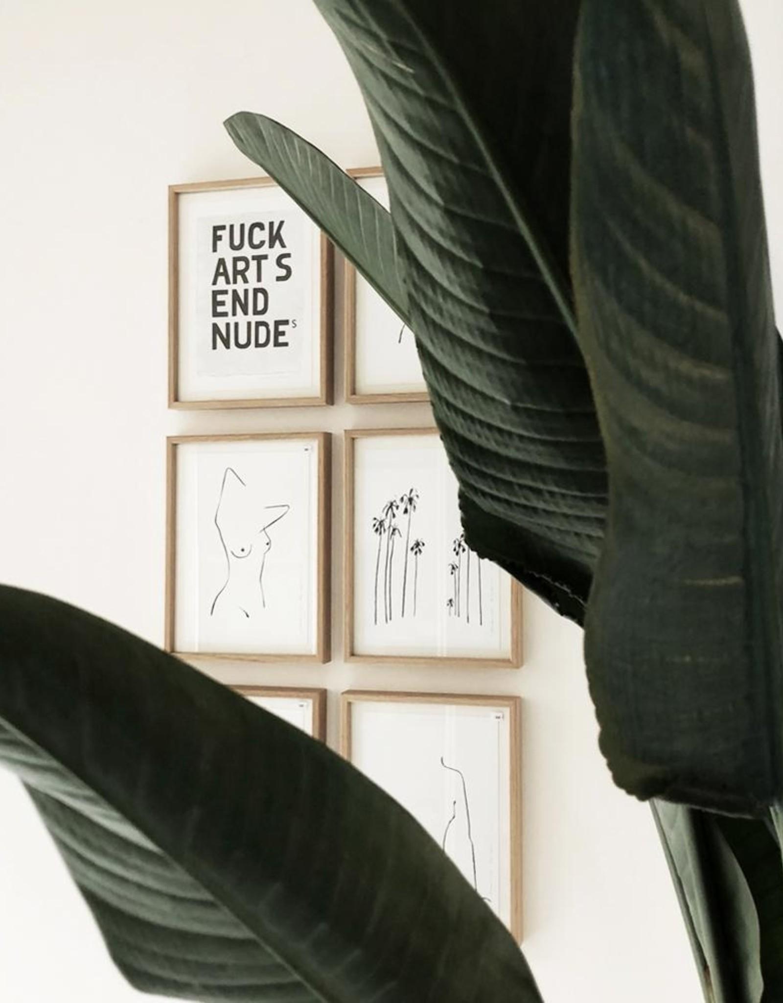 My Deer Art Shop A5 Mini Art Print - Cranes are Flying