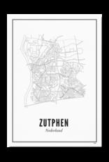 Wijck Poster Zutphen - diverse maten