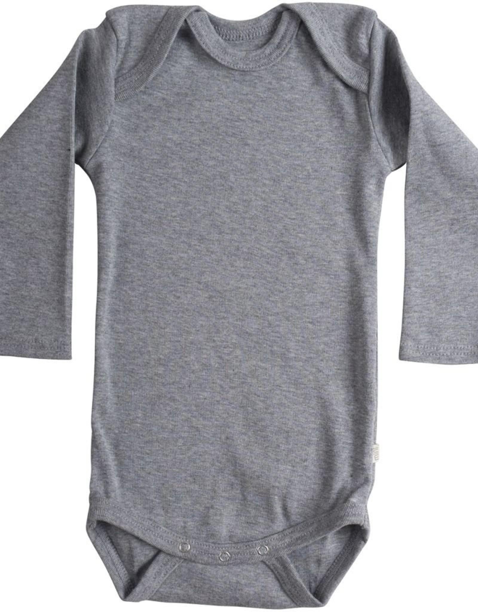 """Minimalisma """"Nebel"""" romper met lange mouw Grey"""