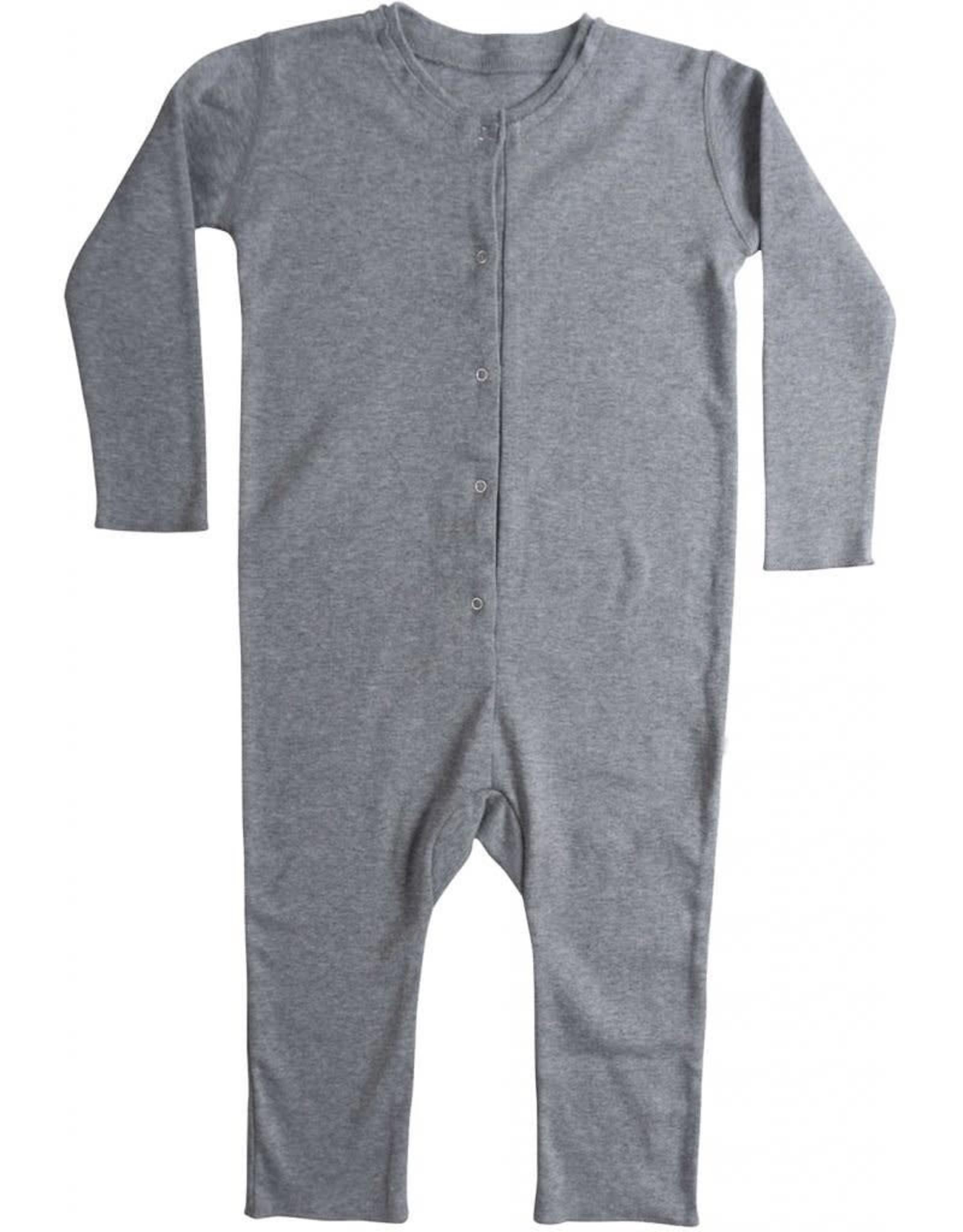 """Minimalisma """"Noor"""" bodysuit met lange mouw Grey"""