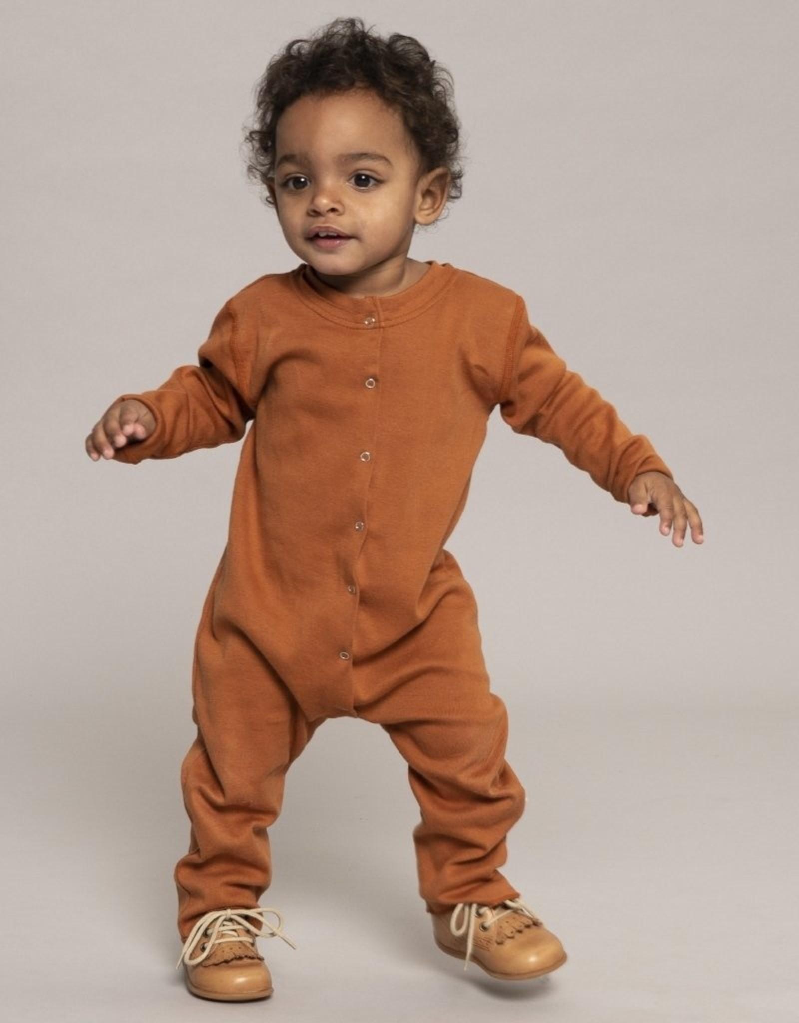 """Minimalisma """"Noor"""" bodysuit met lange mouw Clay"""
