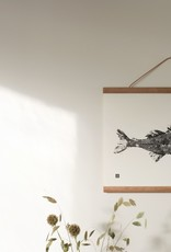 Teemu Jarvi Poster 'Pike Perch' 40x30 cm