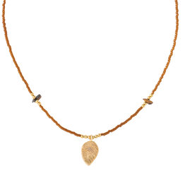 A Beautiful Story Necklace 'Wildflower Tiger Eye'
