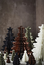 Madam Stoltz Standing Paper Pulp Christmas Tree -  Colors