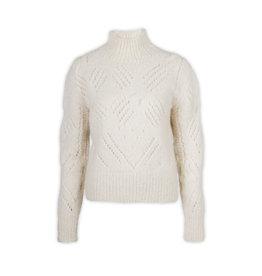 Inti Knitwear Quinta trui alpaca - marfil