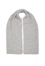 Inti Knitwear Square sjaal baby alpaca - grijs