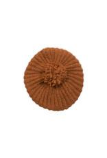 Inti Knitwear Diagonal Hat - kaneel