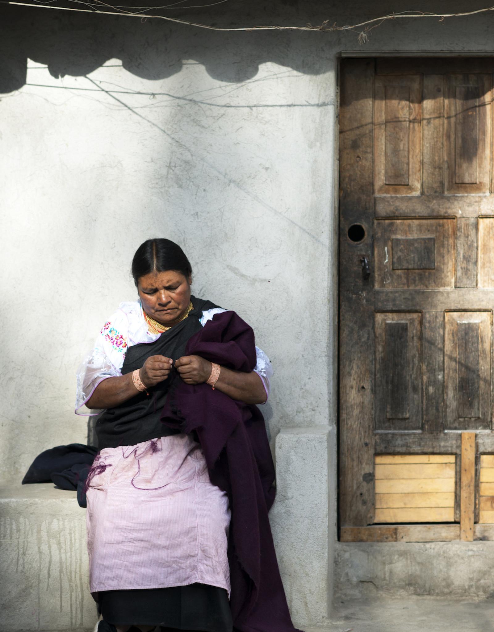 Inti Knitwear Jessy sjaal - kaneel